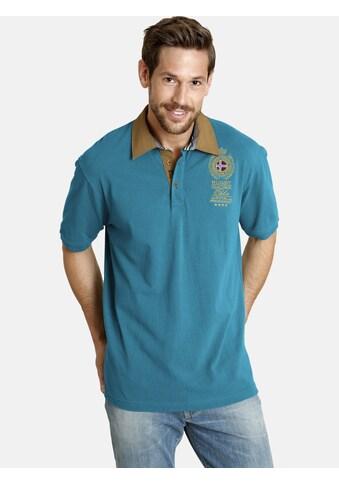 Jan Vanderstorm Poloshirt »JOAKIM«, mit edler Bruststickerei kaufen
