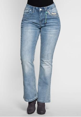 sheego by Joe Browns Stretch-Jeans, »Die Bootcut« kaufen