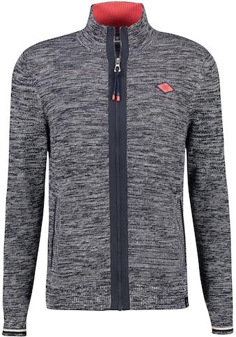 LERROS Strickjacke, mit kleinem Logobadge auf der Brust kaufen