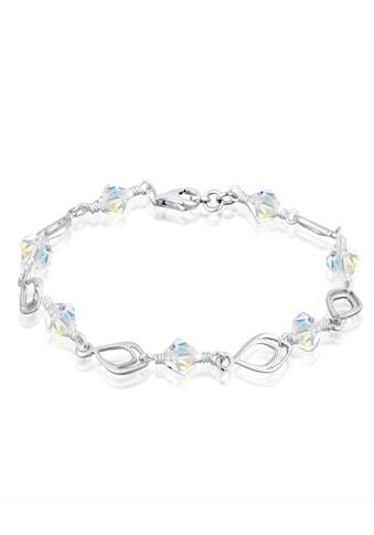 Elli Armband »Swarovski® Kristalle Perlen 925 Silber« kaufen