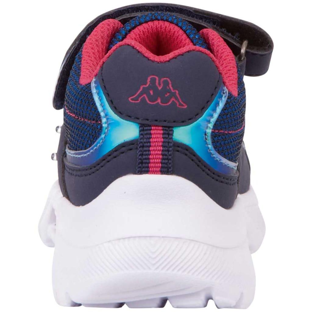 Kappa Sneaker »BESS K«, mit cooler Blinkfunktion
