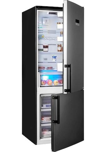 Grundig Kühl - /Gefrierkombination, 192 cm hoch, 70 cm breit kaufen