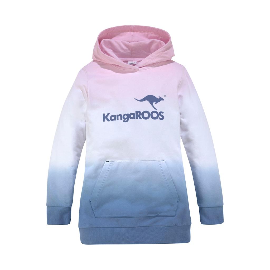 KangaROOS Kapuzensweatshirt, im modischen Farbverlauf