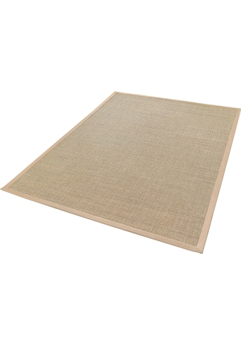 Dekowe Sisalteppich »Mara S2 mit Bordüre, Wunschmaß«, rechteckig, 5 mm Höhe, Flachgewebe, Obermaterial: 100% Sisal, Wohnzimmer kaufen
