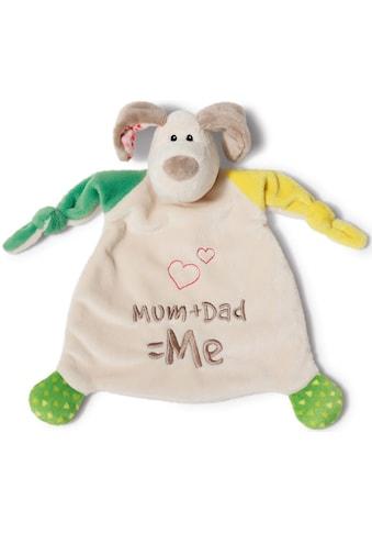 Nici Schmusetuch »My First NICI Kollektion, Hund Fino, Mum+Dad=Me«, (1 tlg.), mit... kaufen