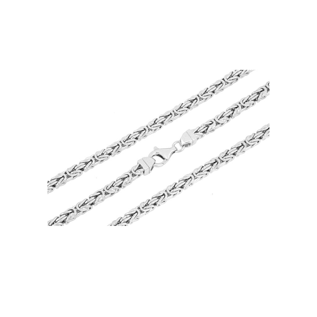 Firetti Königskette »4,0 mm breit, diamantiert, quadratisch«