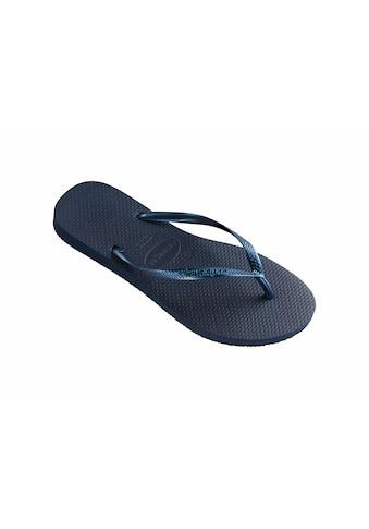 Havaianas Zehentrenner »Slim«, mit weichem Zehensteg kaufen