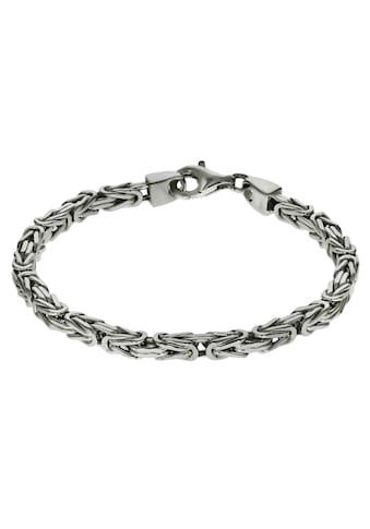 Firetti Silberarmband »in Königskettengliederung 4-kant, 4,0 mm breit«, Made in Germany kaufen