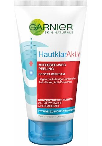 GARNIER Gesichtspeeling »Hautklar Aktiv Porenfrei Waschpeeling« kaufen