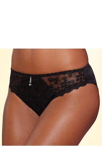 LASCANA Slip, mit schöner Blümchen-Stickereispitze kaufen