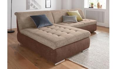DOMO collection Ecksofa, wahlweise mit Bettfunktion und Bettkasten kaufen
