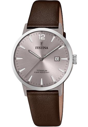 Festina Quarzuhr »Titan, F20471/2« kaufen