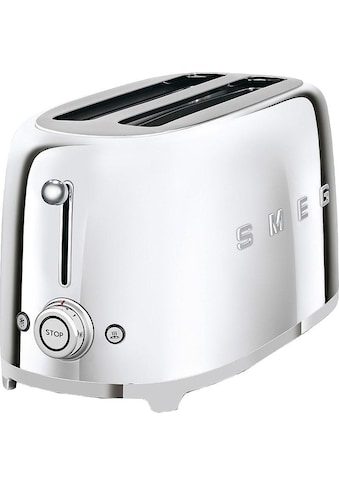 Smeg Toaster »TSF02SSEU«, 2 lange Schlitze, für 2 Scheiben, 1500 W kaufen
