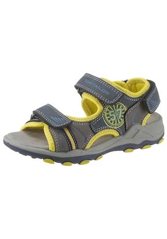 TOM TAILOR Sandale, mit seitlichem Druck kaufen