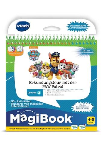 Vtech® Buch »MagiBook Lernstufe 2 - Erkundungtour mit der PAW Patrol« kaufen