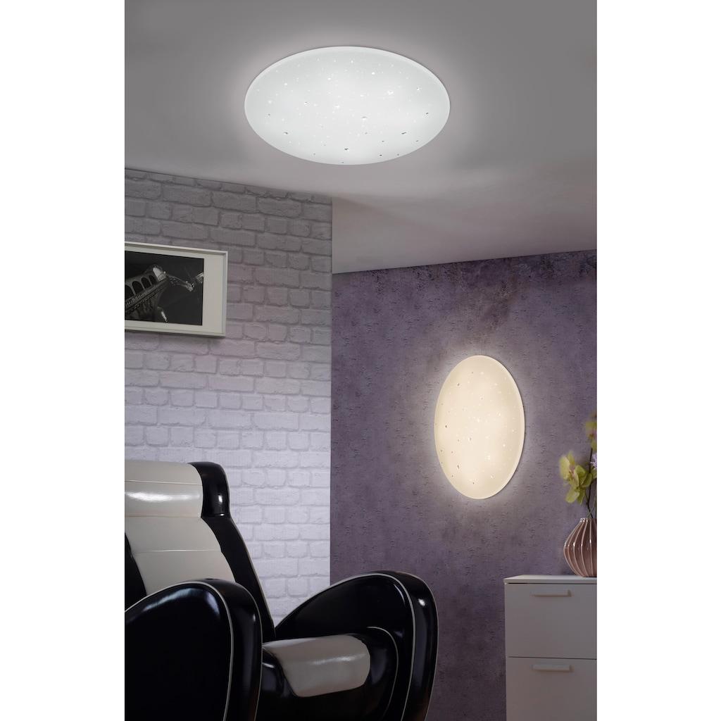 TRIO Leuchten LED Deckenleuchte »Starlight-Effekt«, LED-Board, Warmweiß-Neutralweiß-Tageslichtweiß, Ø 60 cm
