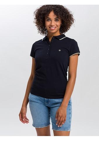 Cross Jeans® Poloshirt »55742«, Leicht strukturierter Piqué kaufen