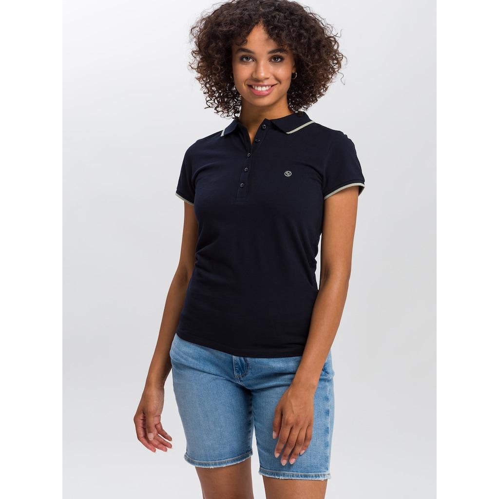 Cross Jeans® Poloshirt »55742«, Leicht strukturierter Piqué