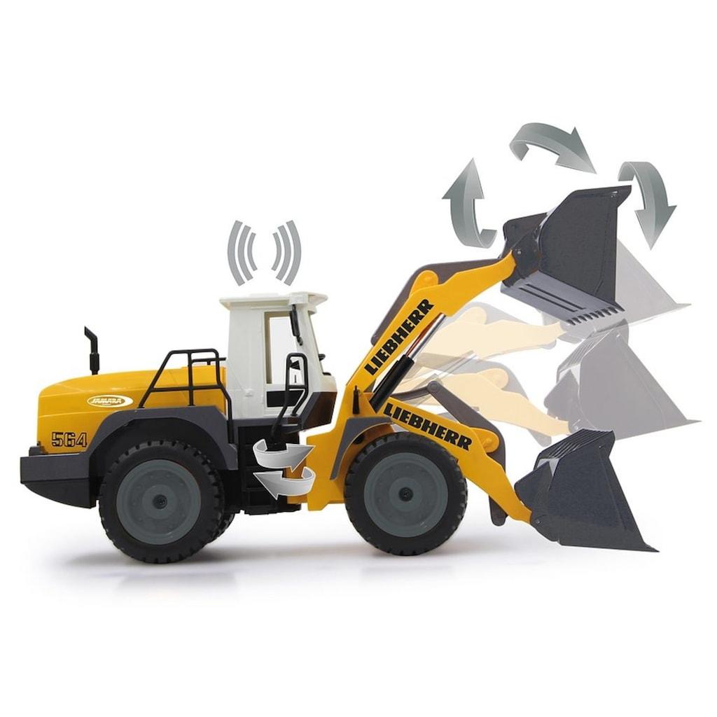 Jamara RC-Bagger »Liebherr 564 2,4 GHz«, mit Motorensound
