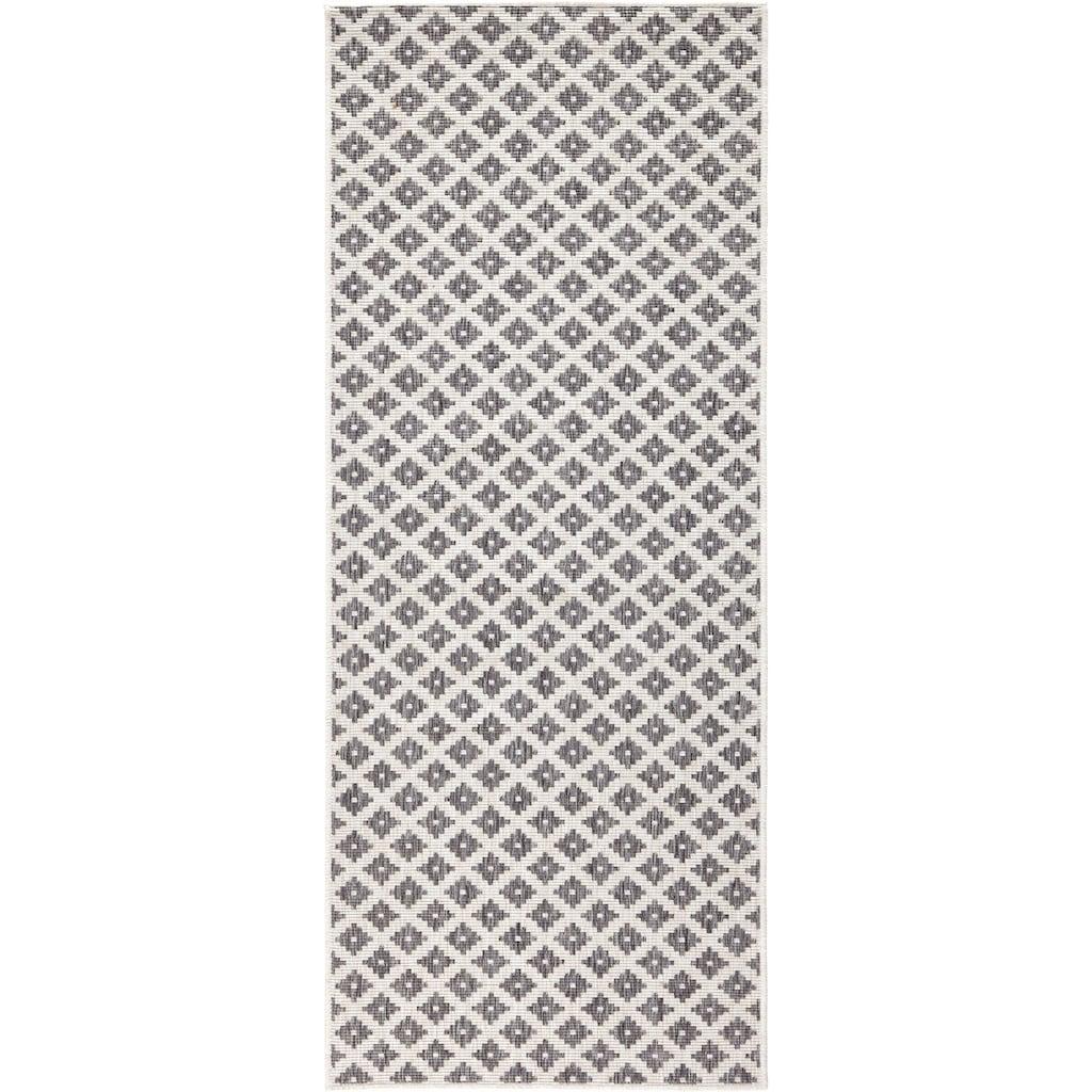 bougari Läufer »Nizza«, rechteckig, 5 mm Höhe, In- und Outdoor geeignet, Wendeteppich