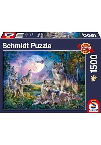"""Schmidt Spiele Puzzle """"Wölfe"""" kaufen"""