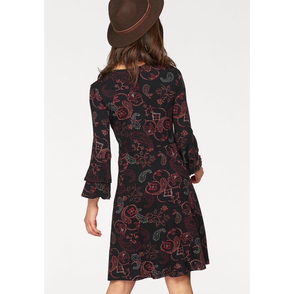 Boysen's Jerseykleid, mit Ärmel-Volants