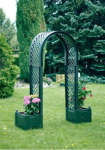 Rosenbogen inkl. 2 Pflanzkästen, grün kaufen