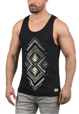 Solid Tanktop »Isaak«, ärmelloses Shirt mit Inka Print kaufen