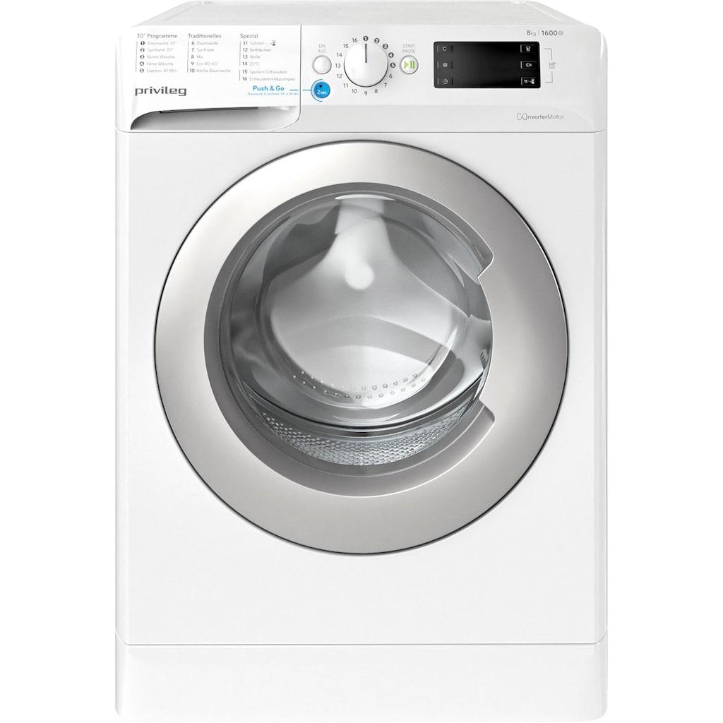 Privileg Family Edition Waschmaschine »Family Edition PWF X 863«, PWF X 863 N, 8 kg, 1600 U/min, 50 Monate Herstellergarantie