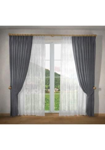 VHG Vorhang nach Maß »Una«, Breite 135 cm kaufen
