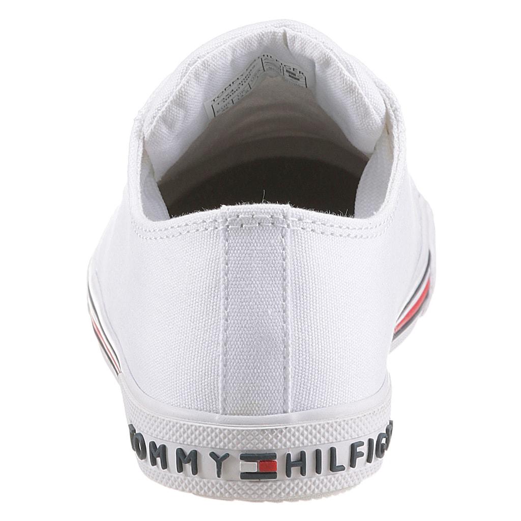 TOMMY HILFIGER Sneaker, mit Logoverzierung