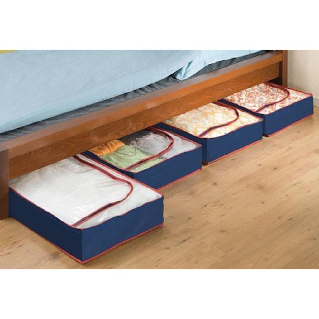 WENKO Unterbettkommode, (Set, 4 St.), aus recyclingfähigem Material