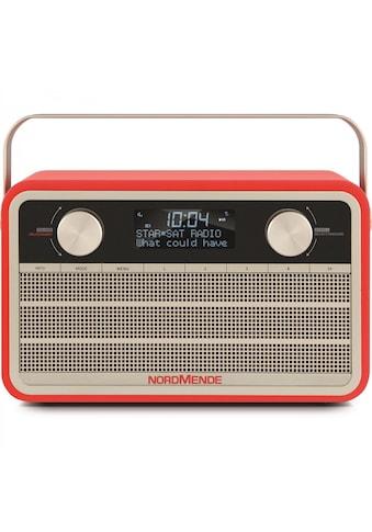 Nordmende Digitalradio (DAB+) »Transita 120«, (Digitalradio (DAB+) 5 W), im Retro Design kaufen