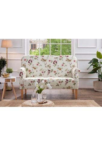 Max Winzer® 2-Sitzer »Juuma«, Küchensofa mit Federkern, mit Blumenmuster kaufen