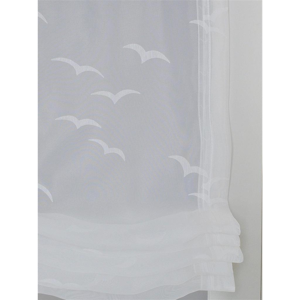 Kutti Raffrollo »Seabird«, mit Hakenaufhängung, freihängend, mit Hakenaufhängung