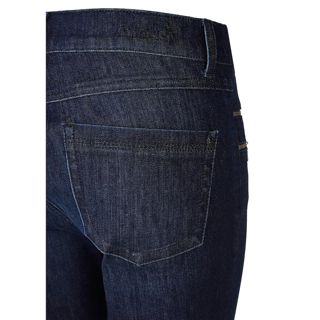 ANGELS Jeans,Malu Zip' mit Zipper-Details