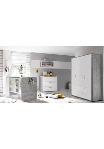 Mäusbacher Babyzimmer-Komplettset »Aarhus«, (Set, 3 St.), Bett + Wickelkommode + 3... kaufen