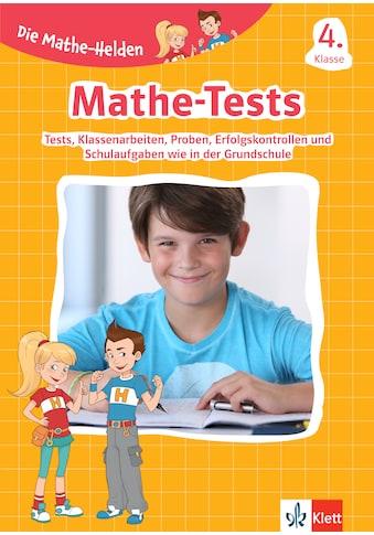 Buch »Klett Die Mathe-Helden: Mathe-Tests 4. Klasse / DIVERSE« kaufen