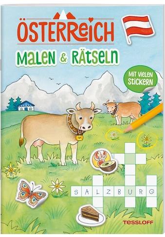 Buch »ÖSTERREICH. Malen &amp, Rätseln / Corina Beurenmeister, Tessloff Verlag Ragnar... kaufen