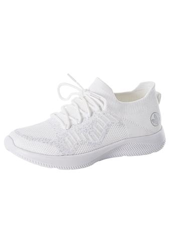 Rieker Slip-On Sneaker, in Strickoptik kaufen