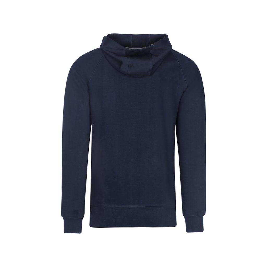Trigema Kapuzensweatshirt aus Biobaumwolle