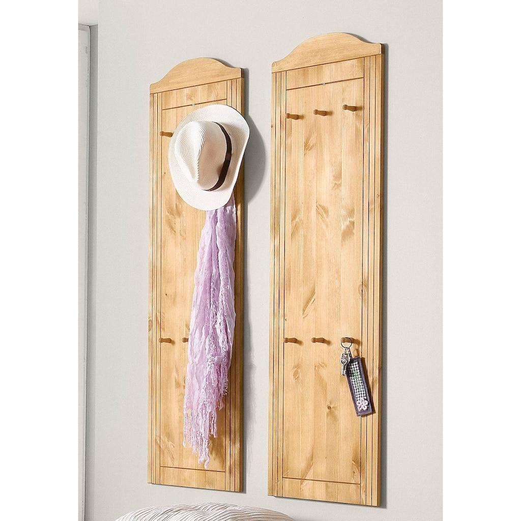 Home affaire Garderobenpaneel »Finca«, im 2er-Set
