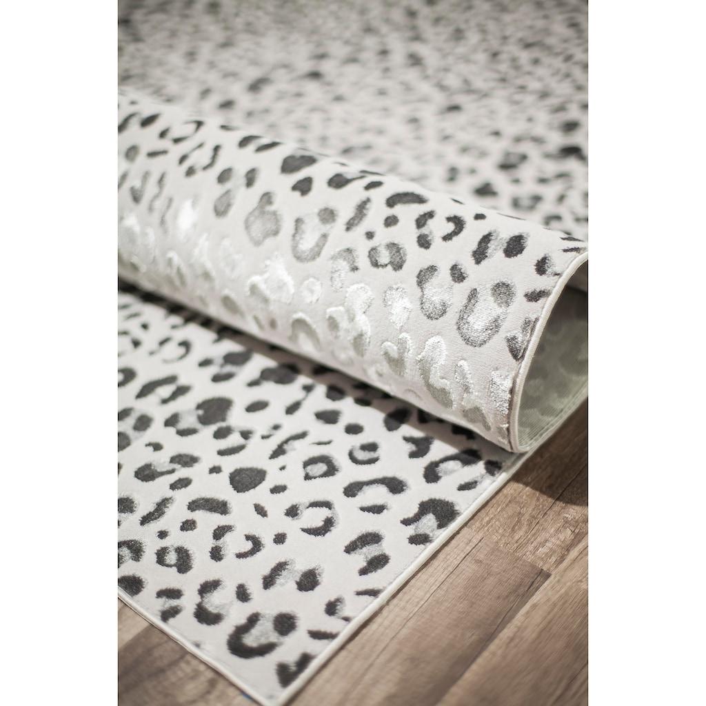 CosmoLiving by Cosmopolitan Teppich »Hazel Leopard«, rechteckig, 7 mm Höhe, Leo Design, Wohnzimmer