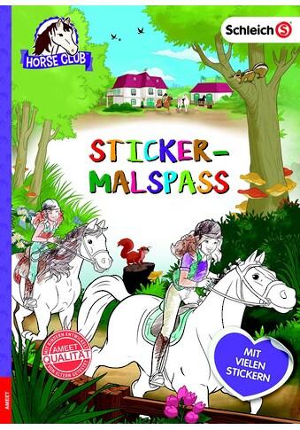 Buch »Schleich Horse Club Sticker-Malspaß / DIVERSE« kaufen