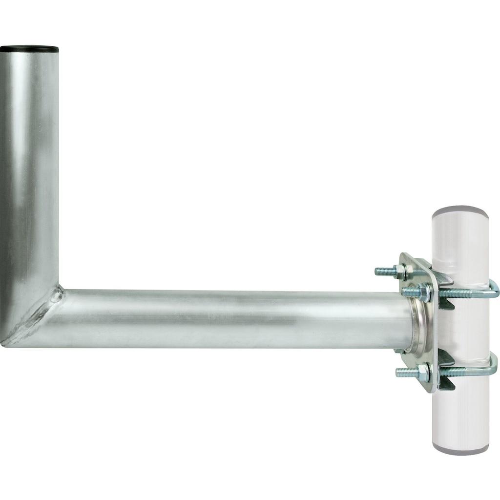 Schwaiger SAT-Halterung, für Satellitenschüsseln aus rostfreiem Aluminium