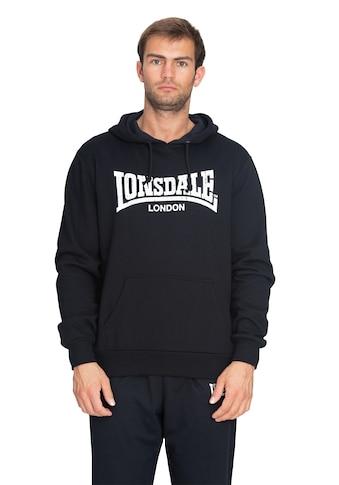 Lonsdale Hoodie mit coolem Marken-Print kaufen