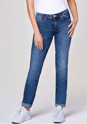SOCCX Straight-Jeans »RO:MY«, mit lässigen Wasch-Effekten kaufen
