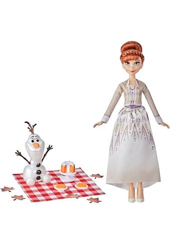 Hasbro Anziehpuppe »Disney Die Eiskönigin 2 Annas und Olafs Herbstpicknick«, mit Puppe... kaufen