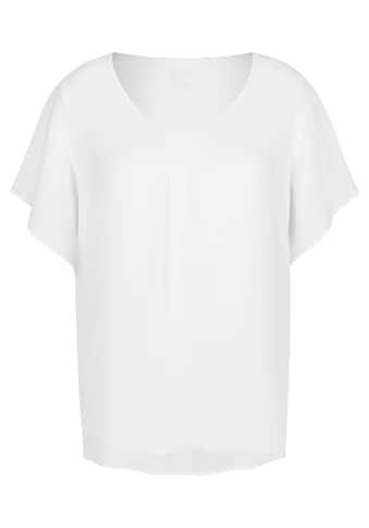 FRAPP Luftige Bluse in Lagen-Design kaufen