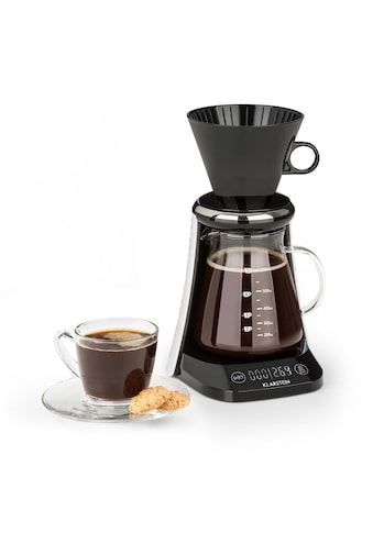 Klarstein craft coffee Waage Timer Glaskanne Filteraufsatz 600ml »Craft Coffee« kaufen